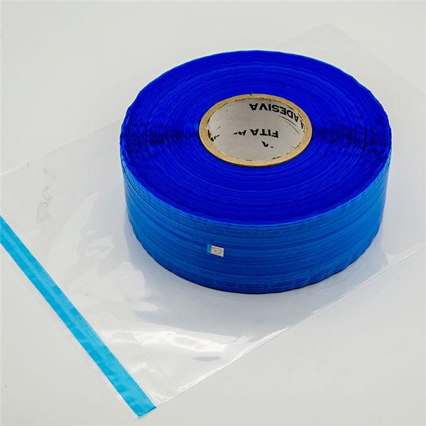 Blue Film Resealable Bag Sealing Tape