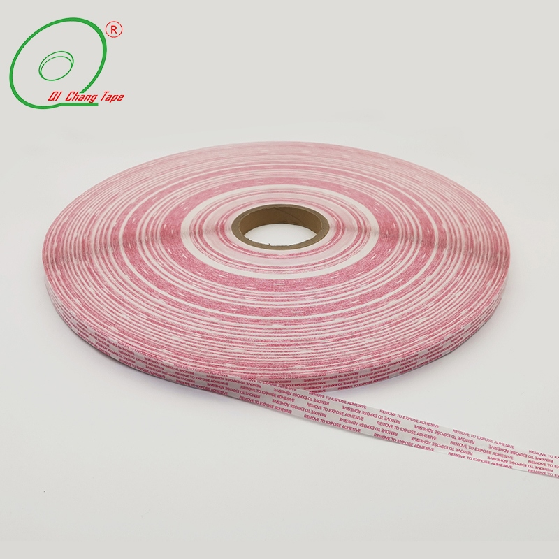 Paper Liner Permanent Bag Sealing Tape