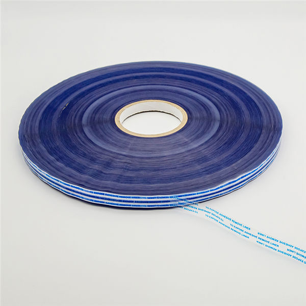 Permanent Bag Sealing Tape with Blue Printing